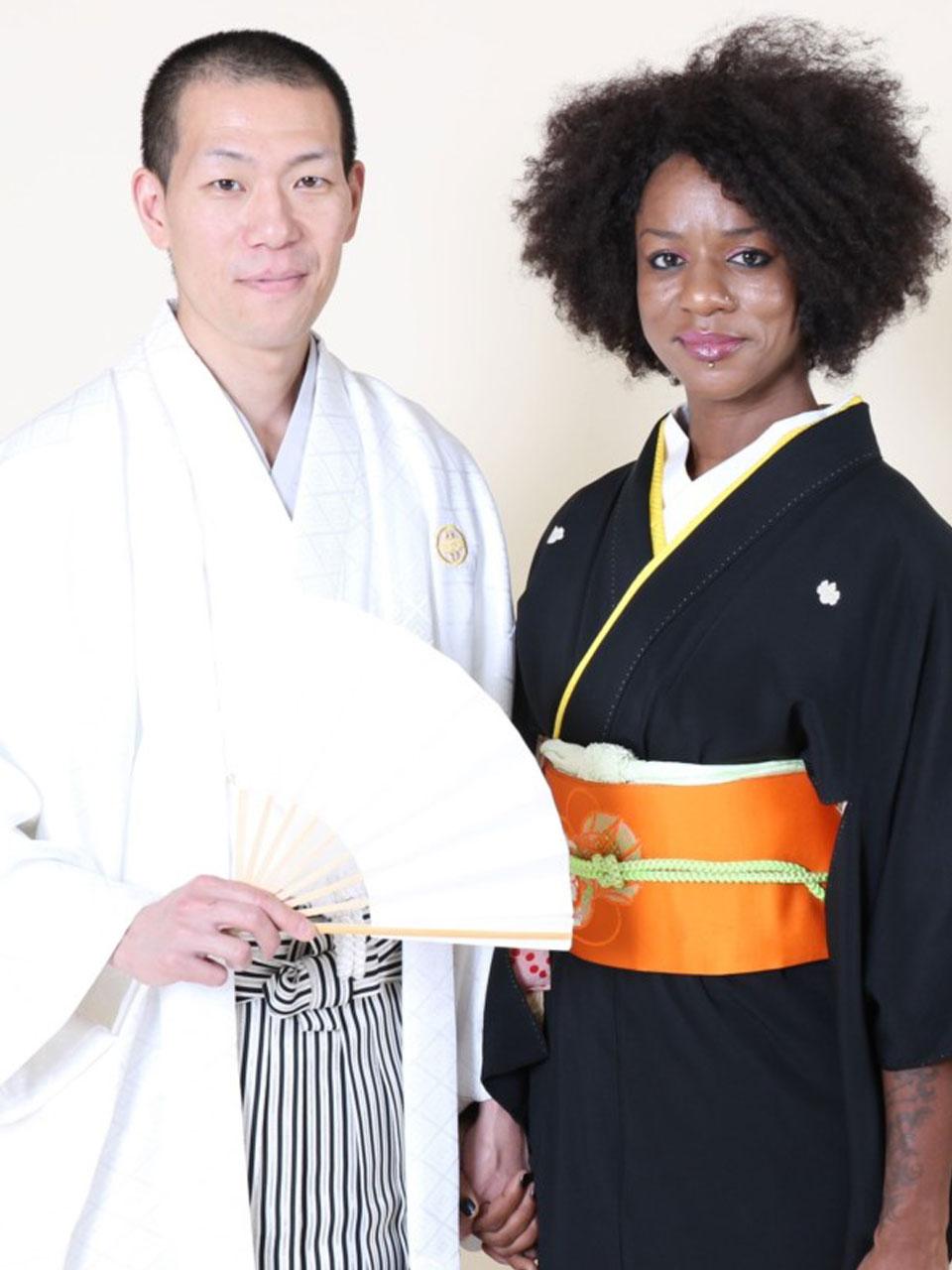 白羽織袴&黒紋付