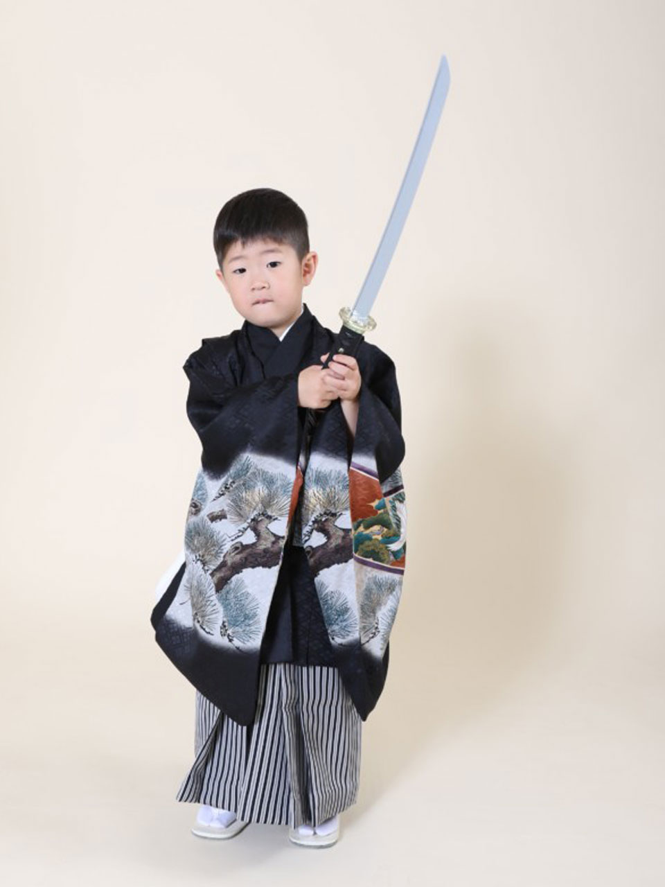 七五三(五歳男児)