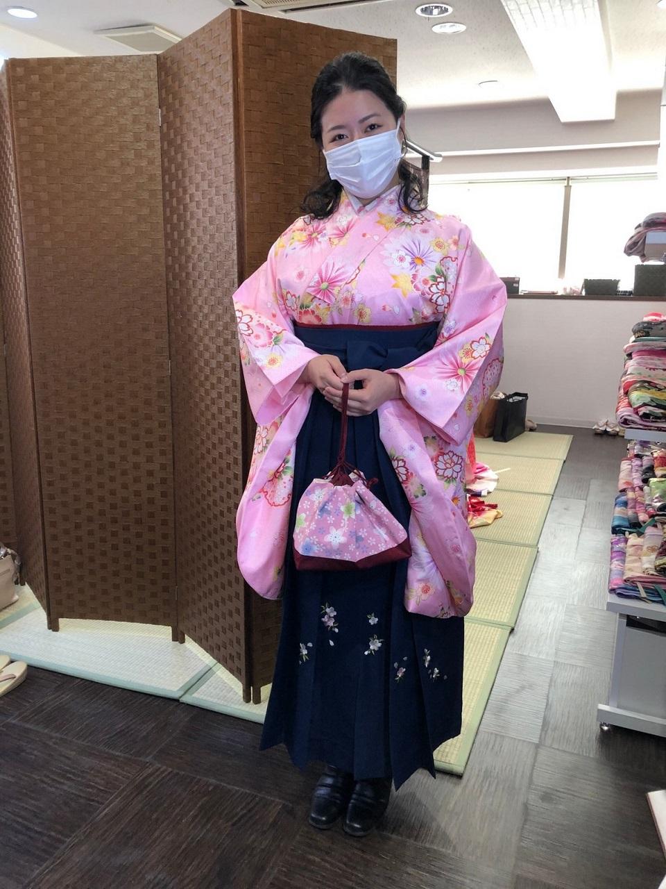 卒業袴小振袖セット